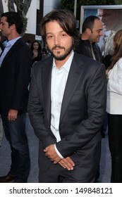"Diego Luna at the ""Elysium"" Los Angeles Premiere, Village Theater, Westwood, CA 08-07-13"