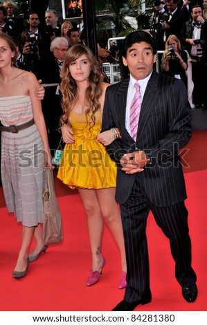 Diego Maradona   daughter at the premiere of