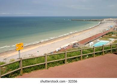 Dieppe's beach