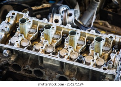 diesel engine detail  for repair