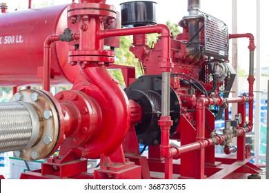 Diesel engine driven fire pump?