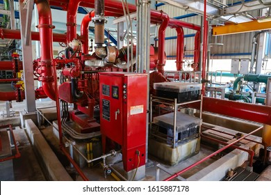 Diesel fire pump for fire fighting system in factory or power plant