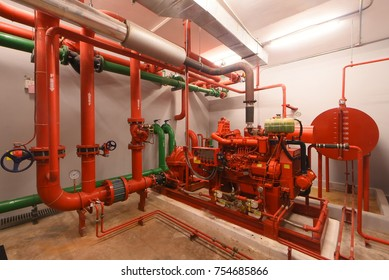 Diesel Generator for Fire Control Valve