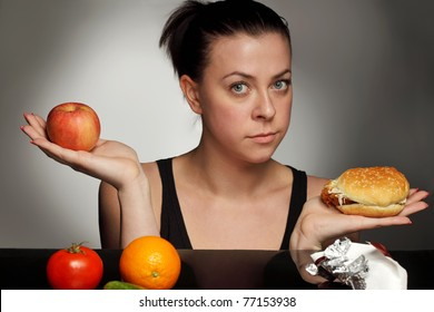 diet concept fat or healthy