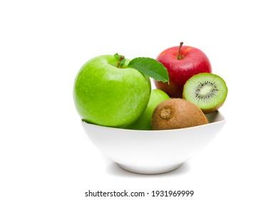 Diet, healthy fruit  in the white bowl - healthy breakfast. Stil - Shutterstock ID 1931969999