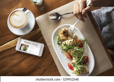 Diet Plan Healthy Living Concept