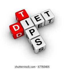 Diet Tips (cubes crossword series)