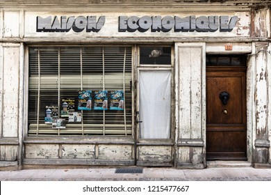 Dieulefit Drôme Provence France 10 19 2018 old abandoned store