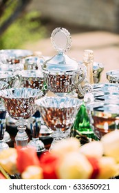 Different Champion Silver Trophy, Trophies. Winners Cups