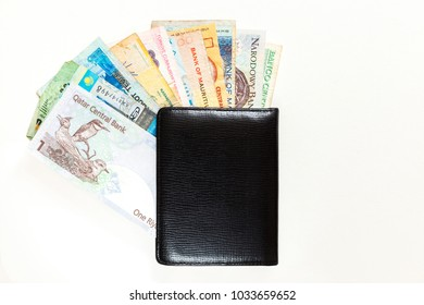 different currencies in wallet