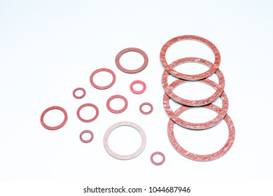 different diameters of gaskets from small to large