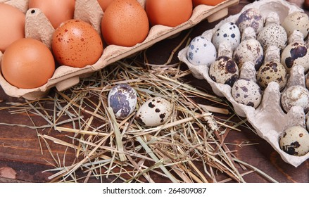 different eggs