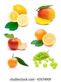 different fruit collection