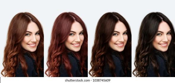 Dark Brown Hair Images Stock Photos Vectors Shutterstock