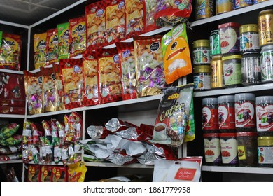 Different item food package in store photo capture at Dhaka, Bangladesh. 22 November 2020