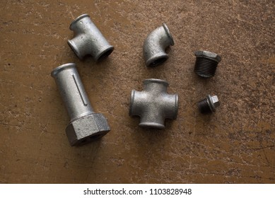 different parts for water pipes