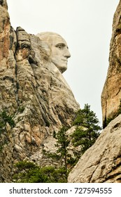 Different perspective of a mount Rushmore National Monument - South Dakota, USA, June 2016