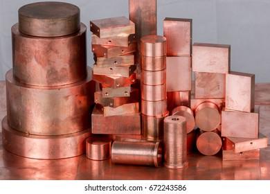 Different profiles of copper as copper scrap