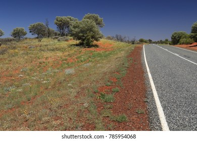 Different road conditions in outback australia