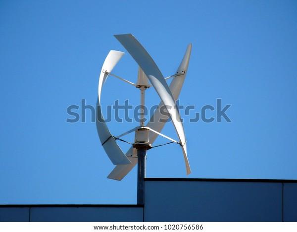 Different Type Windmill Turbine Electricity Generator Stock