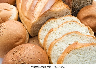 Different types of baked products
