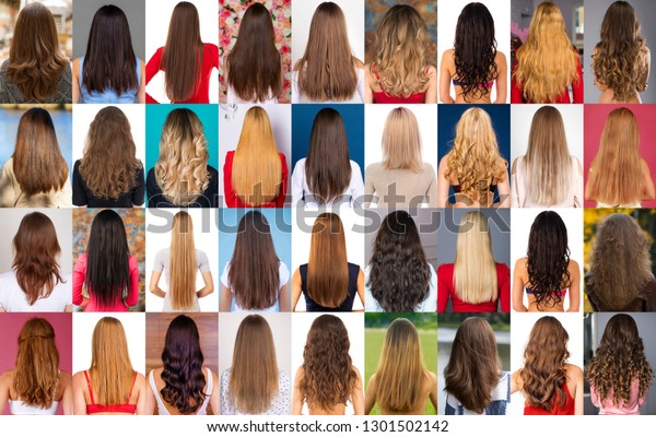 Different Types Female Hair Style | People, Beauty/Fashion Stock Image