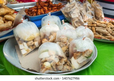 Different types of halal snacks selling in Ramadan bazaar,it is established for muslim to break fast during the holy month of Ramadan.