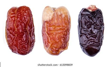 Different types of premium arabian dates.