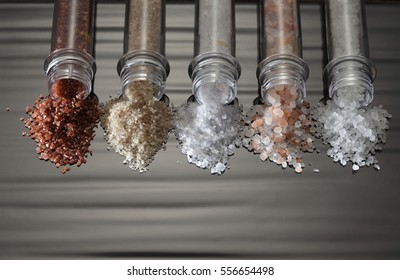 Different types of salt collection