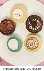 Different variety of Cup cakes