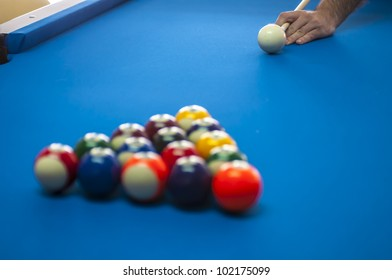 Different views of snooker