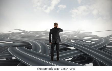 Difficult choices of a businessman due to crisis