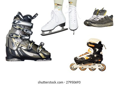 Difficult kinds of sport shoes