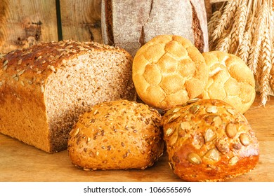 Diffrent Types Of Bread And Buns