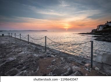 Diffused Sunrise, Portscatho, Cornwall