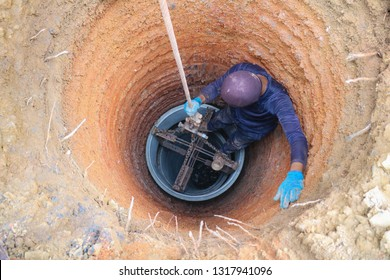 Dig a well for water, Water Well Drilling, Groundwater hole drilling machine, boreholes