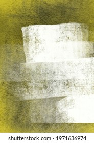 Digital abstract artistic textured background, thick grungy white lines