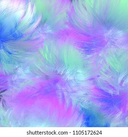 Digital abstract background in blue, green and pink colors.