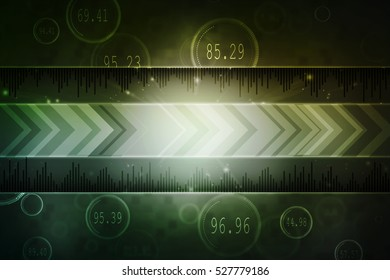 Digital Abstract business background,2d illustration