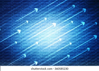 Digital Abstrct background