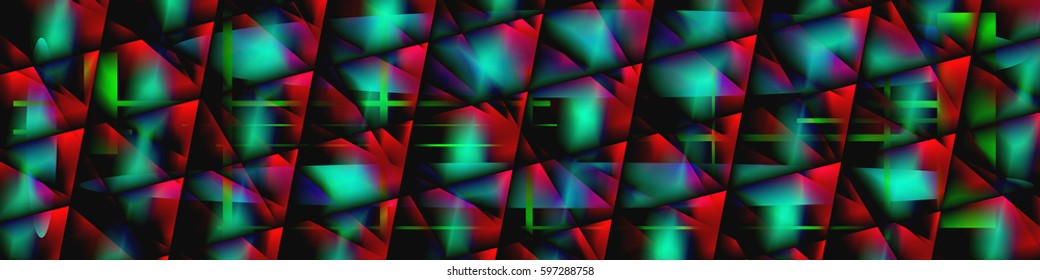 Digital art, abstract three-dimensional objects with soft lighting