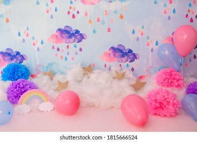 Digital backdrop background for photography - Shutterstock ID 1815666524