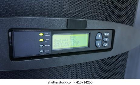 digital control panel power supply for data center