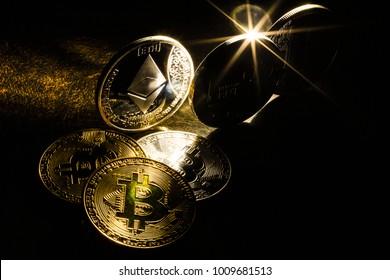 Digital cryptocurrencys bitcoin ethereum litecoin
