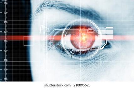 Digital data eye