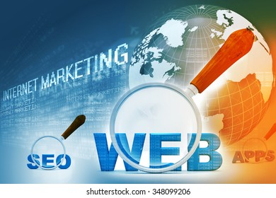 Digital design of internet marketing