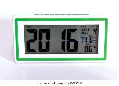 Digital Desktop Clock timer and alarm for wake up.