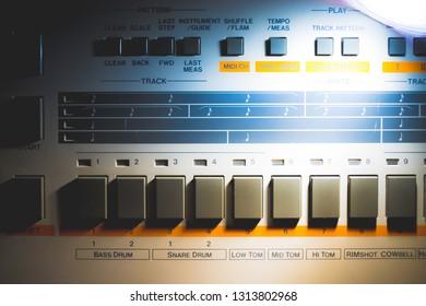 Digital Drum Machine Computer / Sequencer