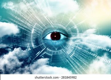 Digital Eye background