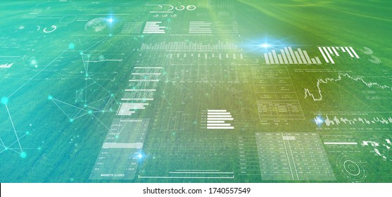 digital futuristic technology in smart argriculture farm using ai artificial intelligence, machine learning, digital twin, 5g, big data, iot, augmented mixed virtual reality, ar, vr,robot,digital